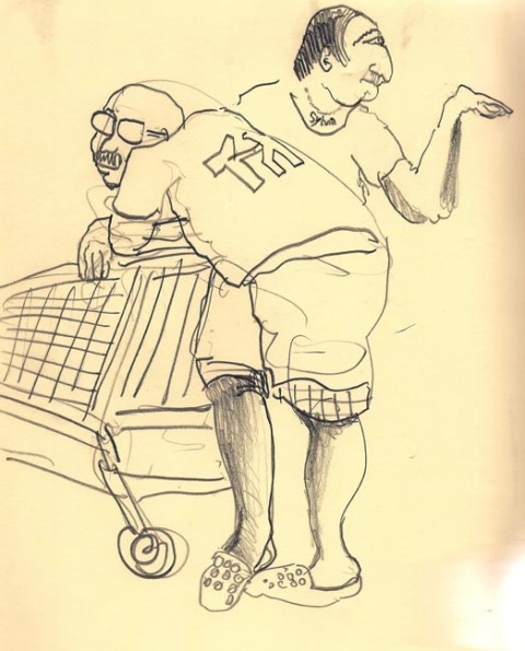 Ik word altijd geil in supermarkets